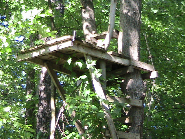 plans for wood deer stand