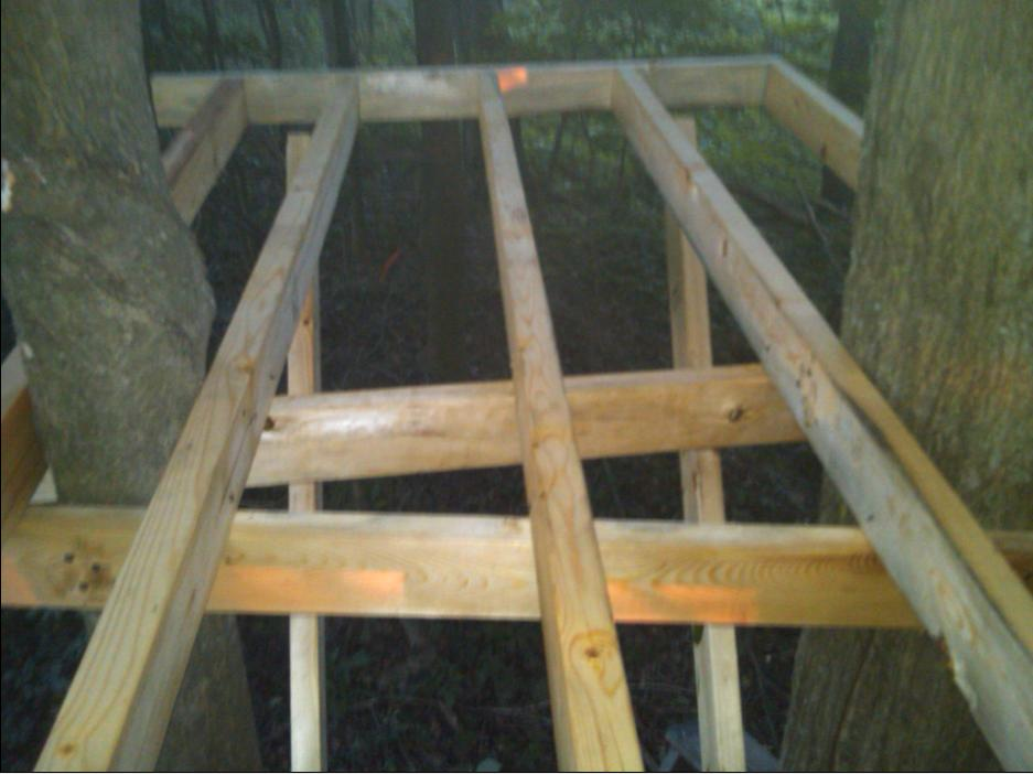 How to build wood ladder stand best ladder 2017 for Enclosed tree stand designs